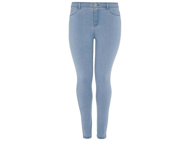 Světle modré džíny Dorothy Perkins Curve Fly