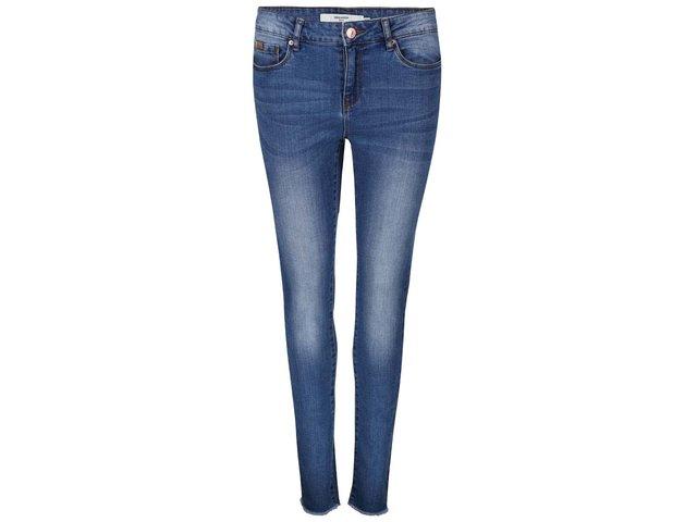 Modré džíny s kratšími nohavicemi Vero Moda Seven