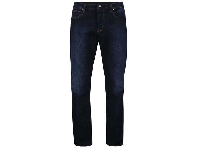 Tmavě modré džíny s ošoupaným efektem Original Penguin Dean