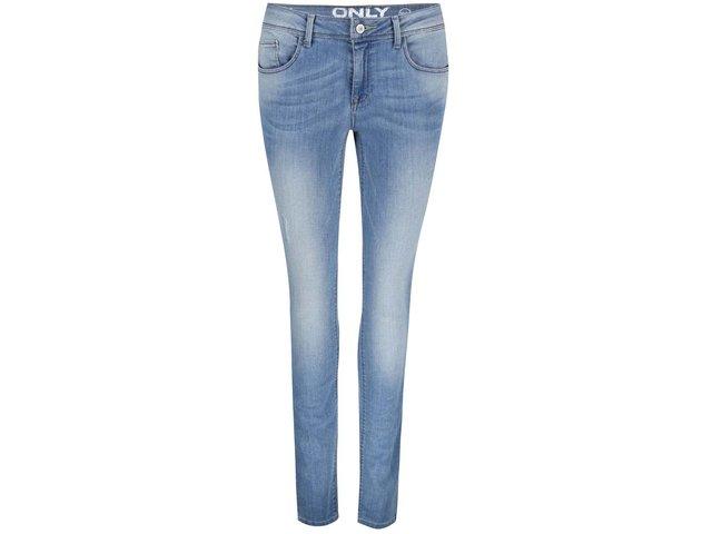 Světle modré skinny džíny ONLY Ultimate