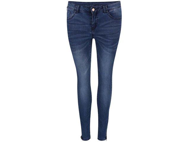 Modré skinny džíny VILA Commit