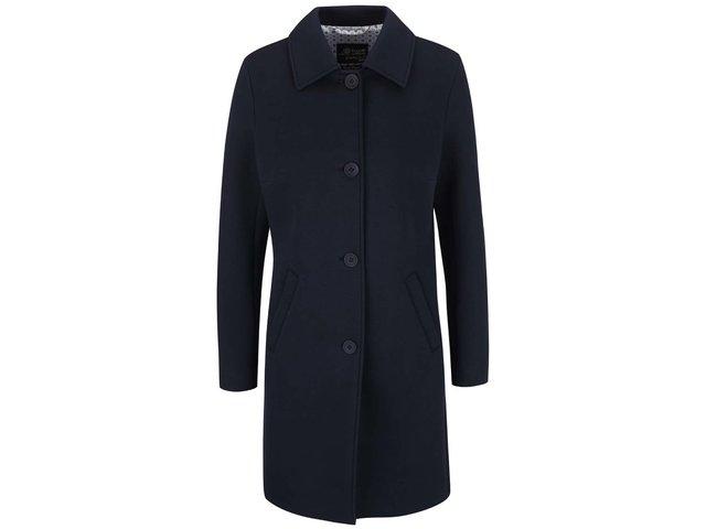 Tmavomodrý dámsky kabát bugatti   9873c176ef