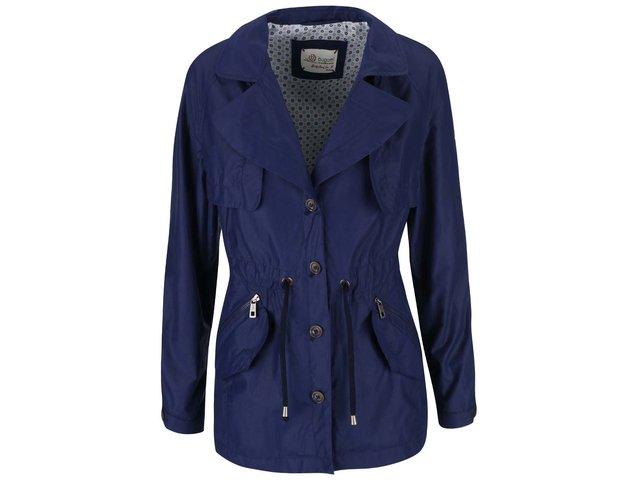 Modrý dámsky kratší kabát bugatti   f39db9fb9e