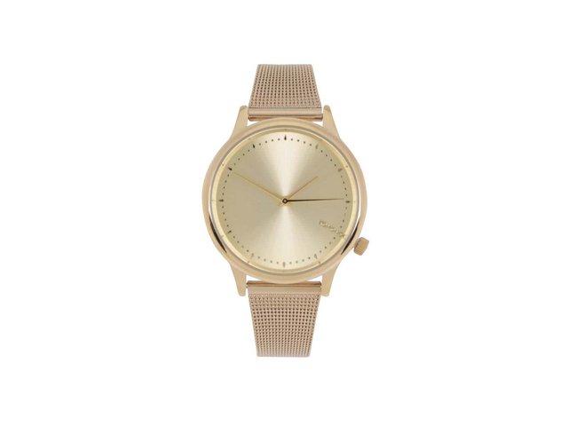 Dámské hodinky ve zlaté barvě Komono Estelle Royale