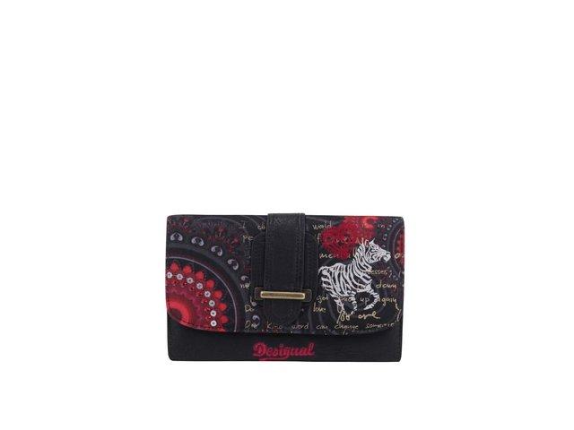 Černá dámská peněženka Desigual Lengueta Red Balls