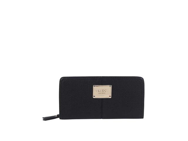 Černá velká obdelníková peněženka LYDC