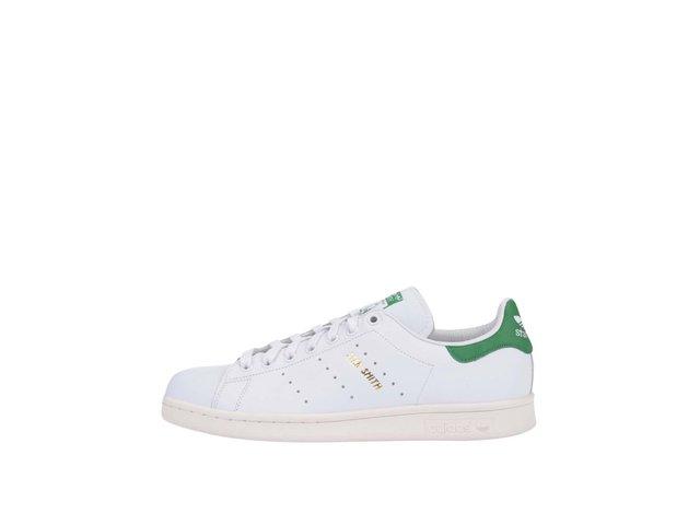 Zeleno-bílé pánské kožené tenisky adidas Originals Stan Smith