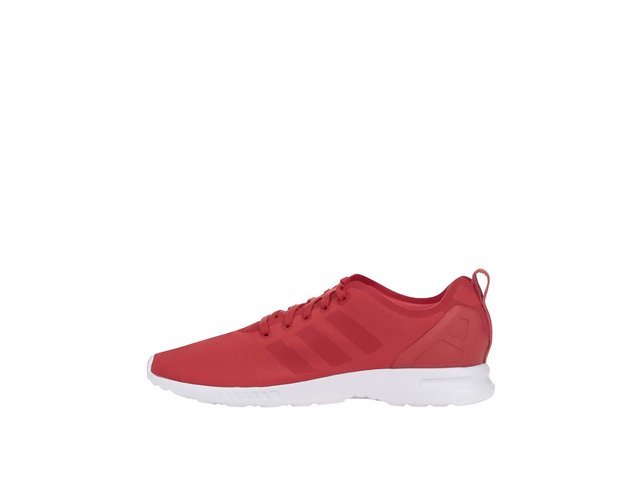 Červené dámské tenisky adidas Originals ZX Flux Smooth