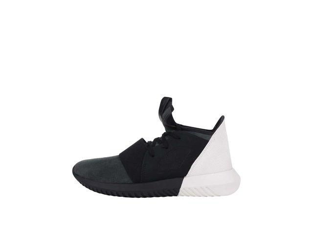 Krémovo-černé dámské tenisky adidas Originals Tubular Defiant W