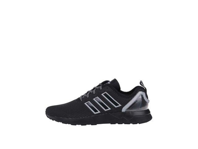 Šedo-černé pánské tenisky adidas Originals ZX Flux Racer Asym