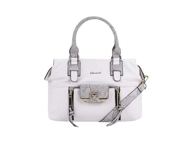 Bílá kabelka Gionni Ashleigh