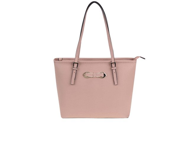 Světle růžový shopper Gionni Thea