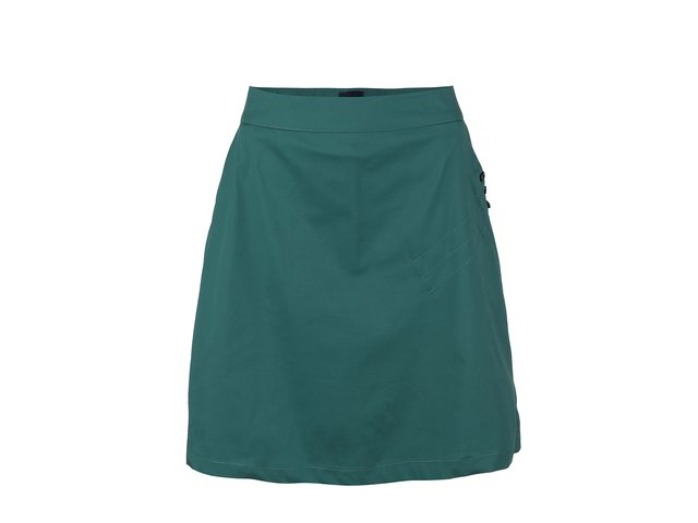 Zelená sukně Skunkfunk Hestia