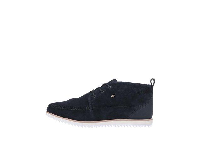 Modré kožené členkové topánky Boxfresh Clyston   14cccc25c11
