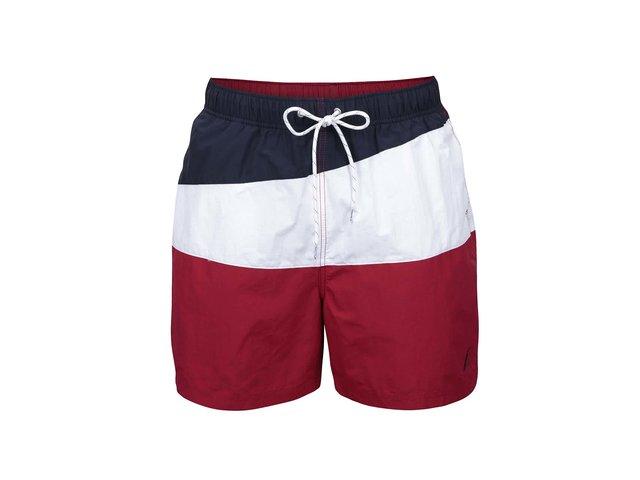 9caa59204c38 Modro-bielo-červené pánske plavky Nautica