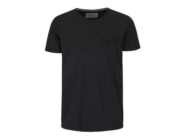 ee732681e860 Čierne tričko s krátkym rukávom Shine Original Andy
