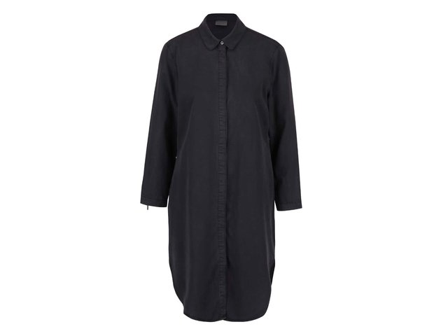 27594ce24264 Čierna dlhá košeľa Vero Moda Alexia