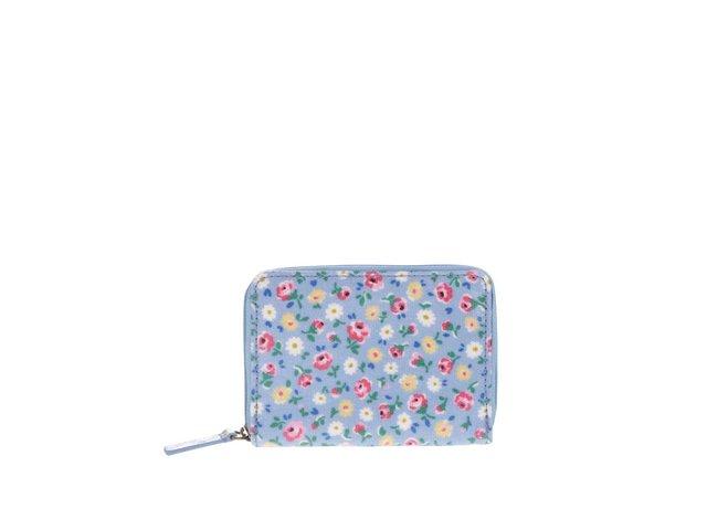 ab625c90f9 Modrá kvetinová miniatúrna peňaženka na zips Cath Kidston