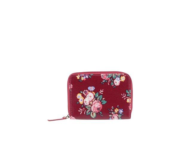 Červená miniatúrna peňaženka na zips s kvetinovým motívom Cath Kidston   d9fbdf0f9f0