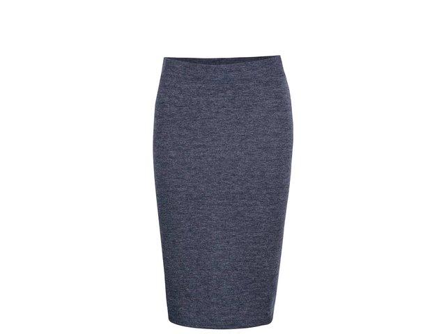 6f74a0bfc874 Tmavomodrá melírovaná sukňa Vero Moda Nora