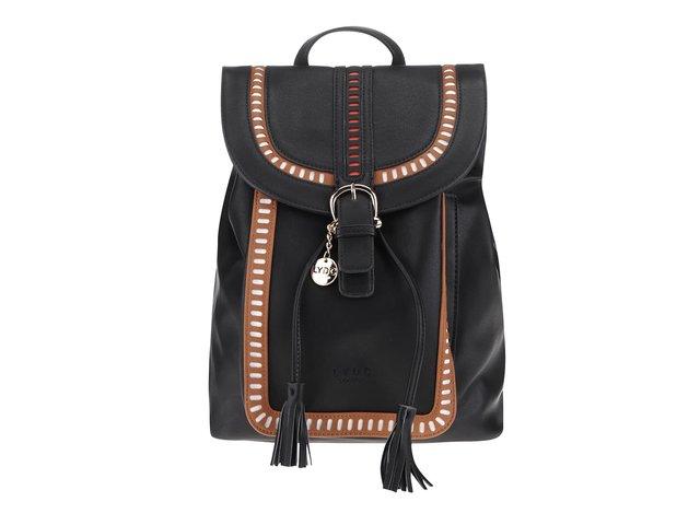 341b971e82 Hnedo-čierny batoh so strapcami LYDC