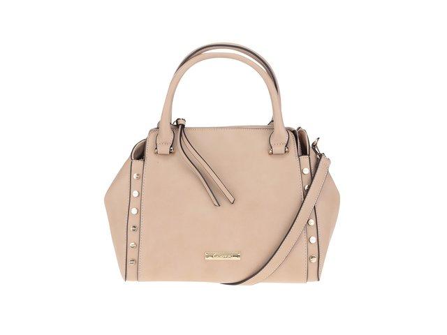 Béžová kabelka s detailmi v zlatej farbe Gionni Romy   d20a5cd365d