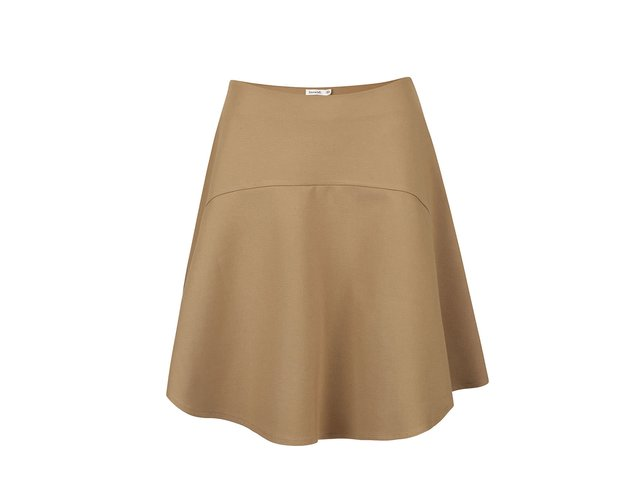 548a4c66554f Béžové sukne Vero Moda · Béžová sukňa Lavand