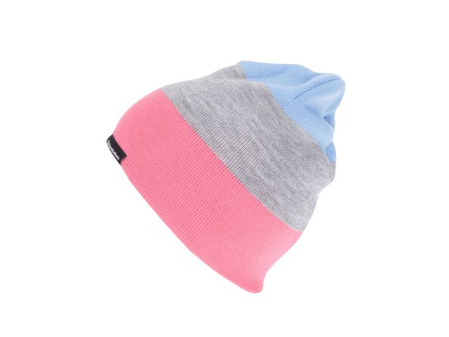 19ca075f0 Ružovo-sivá dámska pruhovaná čiapka Horsefeathers Flo ?