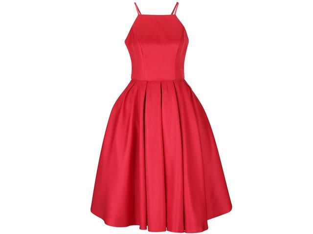 2dd243f3d4b2 Červené šaty Chi Chi London Amity