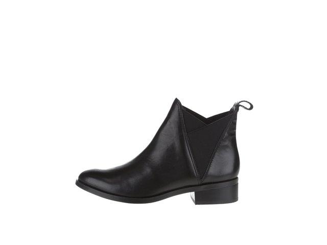 dc217d7d86 Čierne kožené dámske chelsea topánky ALDO Scotch