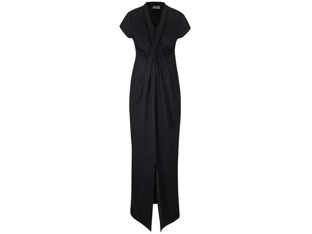 Čierne dlhé tehotenské šaty Mama.licious Glitto   85a0916b44a