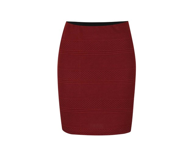 92e199bfc556 Tehlová sukňa s prešívaným vzorom Vero Moda Kaysa