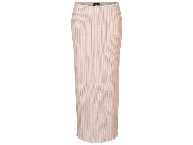 9baffe943211 Staroružová plisovaná midi sukňa Dorothy Perkins