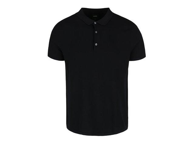 04bbcb2b8f1f Čierna polo košeľa Burton Menswear London