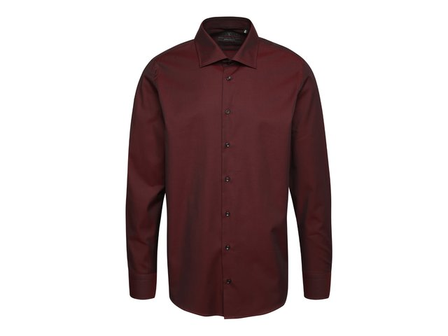 697fbb3e197d Vínová pánska formálna košeľa Pietro Filipi