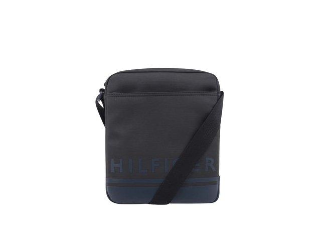 aa08f1f264 Čierna pánska taška cez rameno Tommy Hilfiger