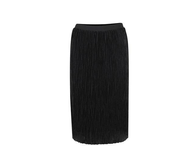 69f35b1be50a Čierna plisovaná sukňa ONLY Sashu