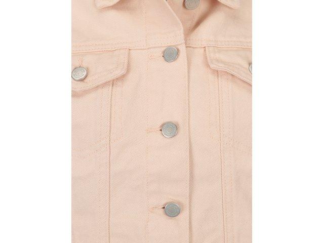 Světle růžová džínová bunda VILA Jules