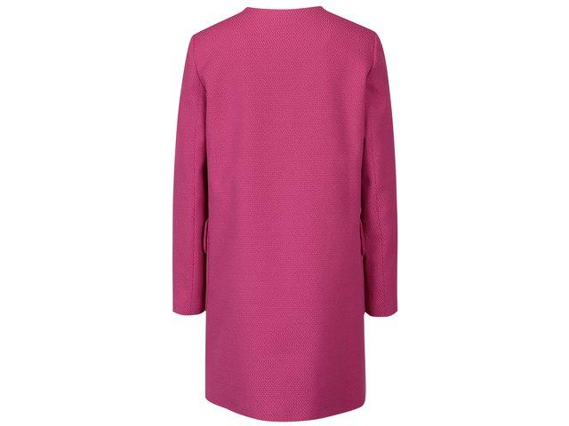 07967e43e2 Růžový dámský kabát Pietro Filipi
