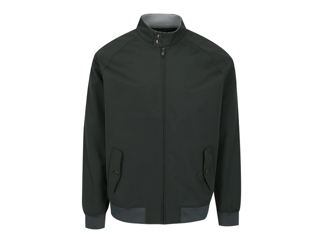 Tmavě zelená pánská bunda Burton Menswear London