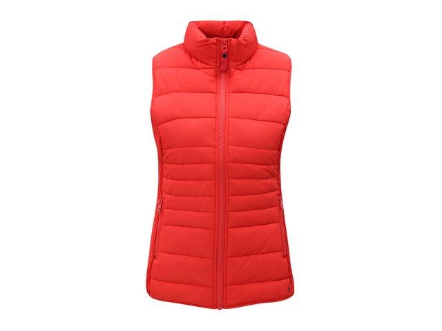 Červená dámská prošívaná vesta Tom Joule Fallow Nový strom  722df50a31