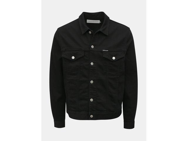 Černá pánská džínová bunda Calvin Klein Jeans