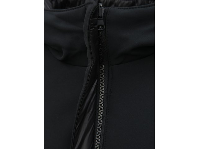 Černý oboustranný kabát s kapucí VERO MODA Reversible  8a9e97576b6