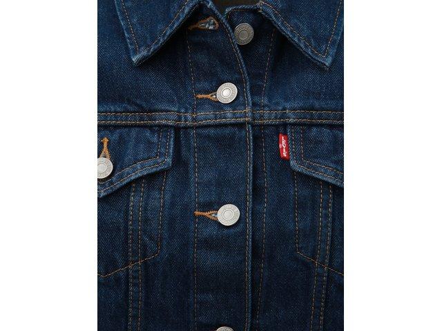 Tmavě modrá dámská džínová bunda Levi's® Trucker
