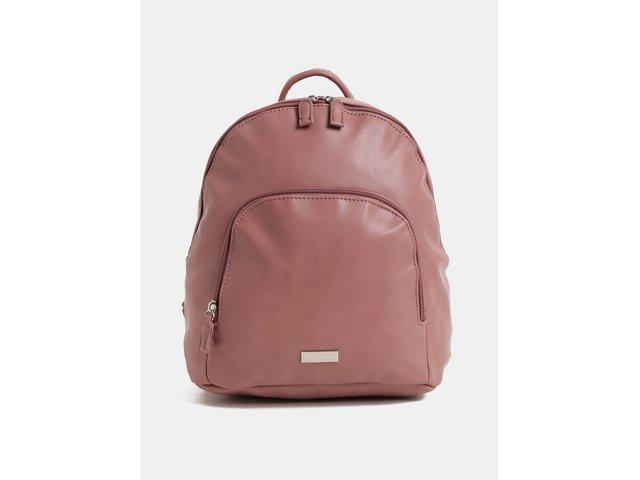 Starorůžový batoh s přední kapsou ZOOT 5bfc667bfa