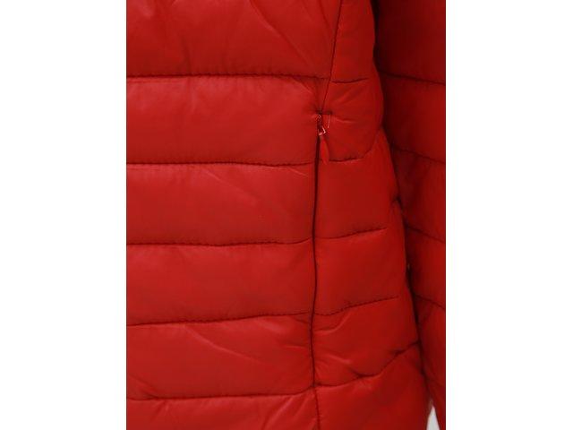Červená prošívaná bunda Blend