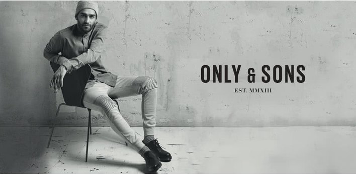 ONLY & SONS: Ide sa von!