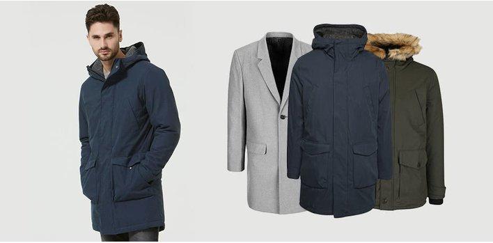 Hrejivé bundy, štýlové kabáty ♂