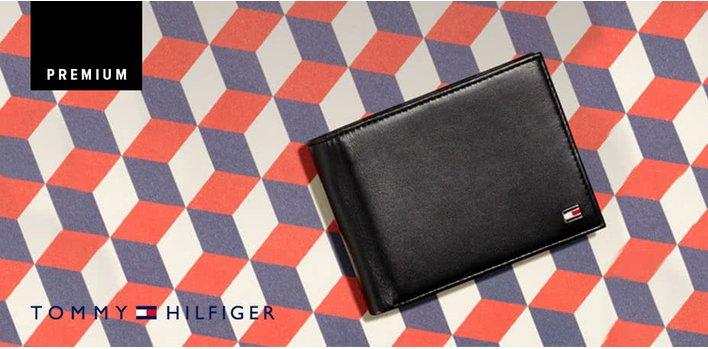 Tommy Hilfiger: Prémiové pásky a peněženky