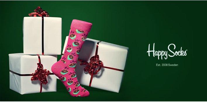 Happy Socks: Šťastné a veselé ponožky